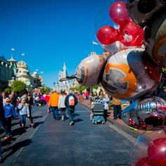 At the corner of #BB8 and main. #Dadtography #WDW