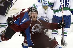 Colorado Avalanche Jolted By The Canucks