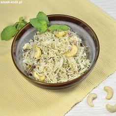 Dla ludzi mieszkającychna terenach południowej i wschodniej Azji ryż jest podstawowym składnikiem diety. W kuchni indyjskiej znaleźć możemy mnóstwo rozmaitych przepisów umożliwiających przekształcenie codziennej porcji ryżu w kolorowe i pachnące dania. O Chili, Grains, Food, Chile, Essen, Meals, Chilis, Seeds, Yemek