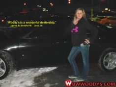 "James and Jennifer Whirrett from Leon, Iowa purchased this 2009 Pontiac G6 and wrote, ""Woody's is a wonderful dealership to come to and we will recommend friends and family to come in! Thanks!"" To view similar vehicles and more, go to www.wowwoodys.com today to see customer reviews and more vehicles."
