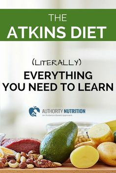 This is an incredibly detailed article about the Atkins diet. Foods to eat, foods to avoid, meal plan, shopping list, scientific background and other tips. Learn more here: http://authoritynutrition.com/atkins-diet-101/