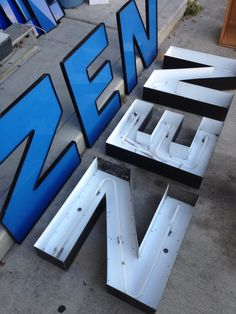 Spare channel letters SOLD!