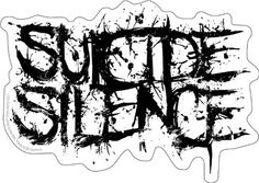Licenses Products Suicide Silence Logo Sticker