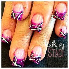 Muddy girl nails