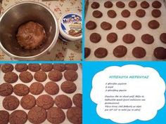 Mπισκοτάκια Μερέντας φανταστικά!!! Σε 15 λεπτά!!! ~ ΜΑΓΕΙΡΙΚΗ ΚΑΙ ΣΥΝΤΑΓΕΣ Sweet Recipes, Dog Food Recipes, Greek Dishes, Dog Bowls, Nutella, Cereal, Easy Meals, Cookies, Chocolate