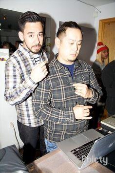 Mike Shinoda and Joe Hahn Linkin Park