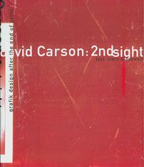 2nd sight. By the master David Carson.