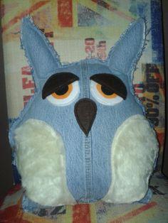 Owl Pillow   Eulenkissen