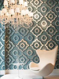 A stunning mosaic design - VELVET  BY BISAZZA