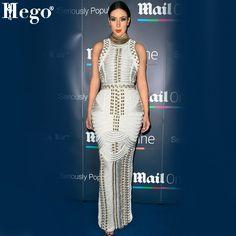 Aliexpress.com : Buy HEGO 2015 New Hot Brand Dress Kim Kardashian Beaded Long Bandage Dress Quality HL166 from Reliable dresses wear wedding guest suppliers on Guang Zhou TianYi Trade Co.,Ltd.  | Alibaba Group