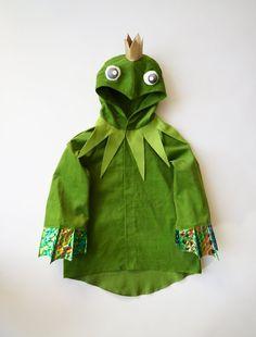 Kostüme für Kinder - Frosch Kostüm 4-5 Jahre, Froschkönig - ein Designerstück von maii-berlin bei DaWanda