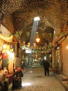 Pouluční Souk - Aleppo, Syria