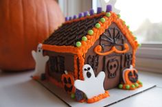 Image result for haunted gingerbread house kit