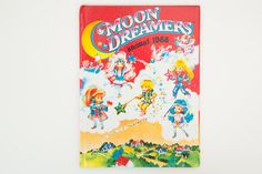 Moon Dreamers Annual 1988 - Vintage Moon Dreamers Book, published 1987