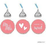 Andaz Press Chocolate Drop Labels! #candylabels #chocolatedrops #candybuffet #candydecor #diy