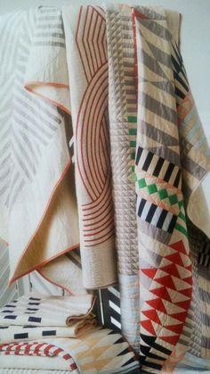 Contemporary quilts by textile artist Meg Callahan