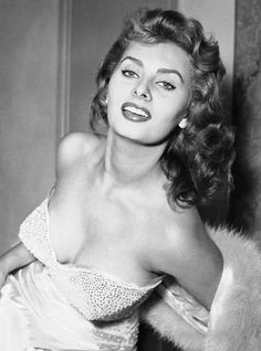 Sophia Loren - in 1991, she received an honorary Academy Award for lifetime achievements. The same year, the Republic of France awarded her a Distinction of la Légion d'honneur (the Legion of Honor) with the grade of Chevalier (Knight).   via Flickr