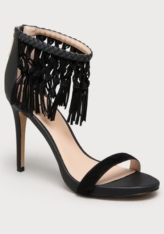 Charismaa Fringed Sandals