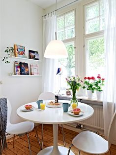 kitchen table by the window
