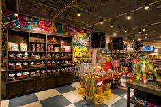 Candy Rox Colorful Store Design, store design, unique store design, colorful store design, retail store design
