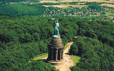 Hermansdenkmal im Teutoburger Wald