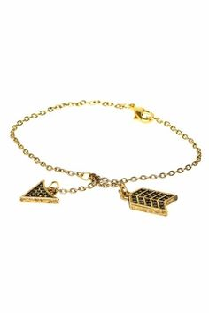 House of Harlow 1960 14KT Gold-Plated Arrow Wrap Bracelet With Pave $79.00