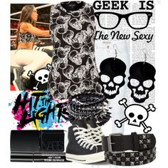 Once again crop top Wwe Outfits, Aj Lee, Shes Amazing, Fun Size, Other Outfits, Geek Chic, Divas, Cloths, Fashion Beauty