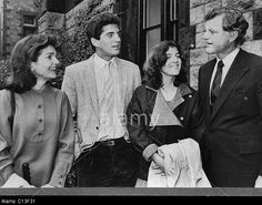 Kennedy Family. From Left: Former First Lady Jacqueline Kennedy ...