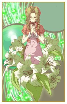 Aerith - Daughter of the Planet. <3