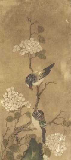 flowers-and-birds-korean-paintings-ananzon.jpg (400×892) Shin Saimdang