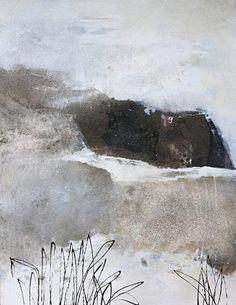 """Renate Migas, """"Himmelgrau"""" Mit einem Klick auf """"Als Kunstkarte versenden"""" versenden Sie kostenlos dieses Werk Ihren Freunden und Bekannten."""