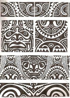 Maori artwork, from the tribe in New Zealand. Ideally, I want a maori tattoo!