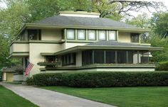 frank lloyd wright ingalls house - Google Search