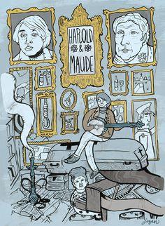 Harold & Maude DVD Re-Design - Logan Fitzpatrick