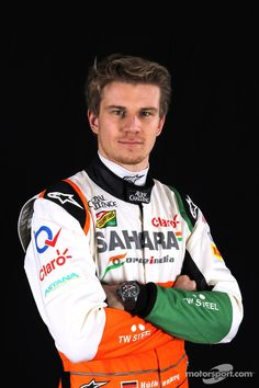 Nico Hülkenberg at the official 2014 photoshoot