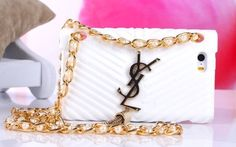 iPhone 5/5S - Purse Style Soft Case With Bling Pearl Decorative Strap in Assorted Colors · Cool Mobile Accessories · Online Store Powered by Storenvy