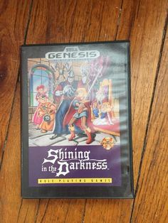 Shining in the Darkness  (Sega Genesis, 1991) Complete In Box - GOOD Condition
