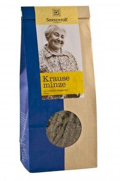Krauseminze ist wohlbekannt unter Kaugimmikauern ;) Sonnentor Krauseminze kbA, 50 g Drinks, Online Shopping, Mint, Health, Drinking, Beverages, Drink, Beverage