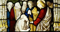 The Bible shows a distinction between being regenerated or saved by the washing and renewing of the Holy Spirit and having gifts bestowed upon a person. Apostles Creed, Episcopal Church, Holy Spirit, Ikon, Holi, Stained Glass, Healing, Bible, Window