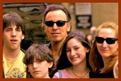 Bruce Springsteen and Patti Scialfa Family