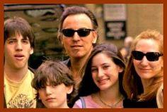 Bruce Springsteen and Patti Scialfa Family