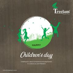 Childhood is about innocence and playfulness. It is about joy and freedom. Happy Children's Day, Happy Kids, Children's Day Wishes, National Days, Child Day, Freedom, Childhood, Joy, Happy Children