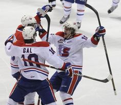 The Spokane Chiefs defeat Tri-City in overtime to force Game 7 in the WHL Western Conference semifinals. Gallery by Colin Mulvany. #spokane #whl