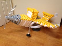 Balloons you can wear! This cool airplane inspired by Dusty of Disney's Planes…
