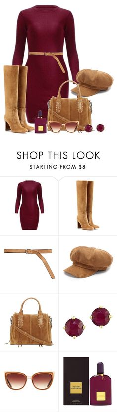 """""""Fall Fashion"""" by misshonee ❤ liked on Polyvore featuring Gianvito Rossi, Bergè, Lucky Brand, Effy Jewelry, Barton Perreira and Tom Ford"""