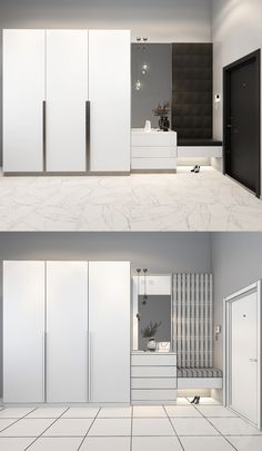 Wall Wardrobe Design, Wardrobe Interior Design, Wardrobe Door Designs, Bedroom Closet Design, Bedroom Furniture Design, Interior Design Kitchen, Room Door Design, Home Room Design, Hallway Designs
