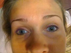 Purple Shades of Permanent Eyeliner (Upper & Lower) Gorgeous @AnastasiaMakeupChicago