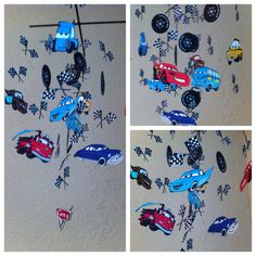 Cars Mobile by MadeByKatee on Etsy, $135.00