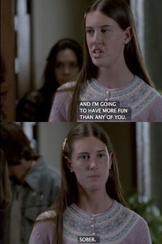 Millie on Freaks and Geeks.  Before she became Amanda, potential Slayer!