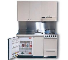 If your kitchen is small and you cannot install cabinets that suffice your storing needs, consider p. Portable Kitchen Cabinets, Kitchen Cabinet Storage, Storage Cabinets, Kitchen Appliances, Small Apartment Interior, Small Apartment Kitchen, Space Saving Furniture, Furniture Ideas, Kitchen Sets